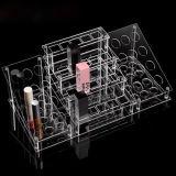 주문을 받아서 만들어진 새로운 디자인 공간 아크릴 화장품 진열대