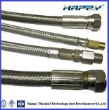En PTFE Flexible tressé en acier inoxydable flexible de frein