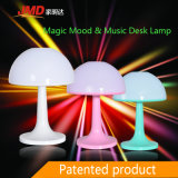 Magic Mood y música lámpara de mesa LED con altavoz Bluetooth y reproductor de tarjetas TF