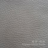 Tessuto di cuoio della pelle scamosciata del poliestere con il processo di timbratura caldo