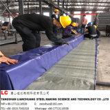 黒い正方形の鋼鉄管En10219 En10210黒い長方形鋼管