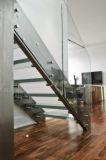 China proveedor escaleras de vidrio contemporáneo con la banda de rodadura de vidrio antideslizante