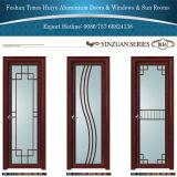 Les portes à battants en aluminium avec la couleur blanche couleur dorée couleur en bois
