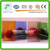 vidrio oceánico del claro del vidrio modelado de 4m m