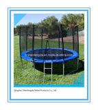 PEのネット機構の10FTの円形の青いトランポリン