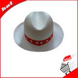 Chapéu de papel Panamá Chapéu de chapéu Chapéu de sol Chapéu promocional