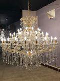 Chrom-und freier Leuchter-hängende Kristalllampe Maria-Theresa