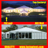 Tenda laterale del PVC di Fastup multi per il diametro 8m del Corridoio di banchetto ospite di Seater delle 50 genti