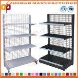 Mensola della parete delle mensole di visualizzazione del supermercato del comitato della rete metallica (Zhs132)