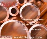 Tubo de encanamento temperado suave e rígido
