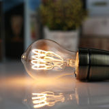 Bulbo macio flexível do diodo emissor de luz do filamento da ampola do vintage de Edison para a iluminação decorativa do pendente interno