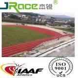 Pista corrente di gomma atletica approvata di superficie di Iaaf dello stadio