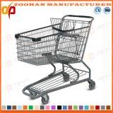 Die meiste populäre Supermarkt-Metalleinkaufen-Laufkatze (ZHT1)