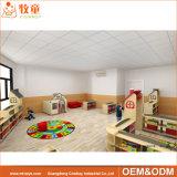Tableau et présidence réglés de meubles de contre-plaqué de gosses de jardin d'enfants de pépinière pour la salle de classe préscolaire