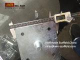 BS1139 de Grondplaat van de Spon van het Staal van Footplate van de steiger