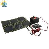 caricatore pieghevole multifunzionale del pannello solare 18W