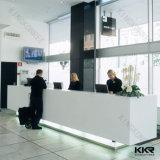 Bureau de réception moderne de meubles de fin élevée