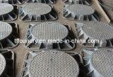 Algerische duktile Eisen-Einsteigeloch-Abdeckung En124 D400