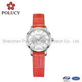 Relógio elegante de quartzo suíço para a senhora