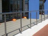 Trilhos do aço inoxidável de /Balcony do corrimão da escada da tubulação de aço