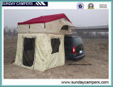 Het Afbaarden van het Dak van de auto met de Waterdichte het Kamperen van de Auto Hoogste Tent van het Dak