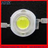 1W Blanco Super LED de alta potencia por encima de 100lm