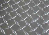 Piatto Checkered di alluminio del diamante