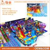 Equipamento interno comercial do campo de jogos das crianças coloridas para a venda