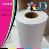 польностью потрёпанная бумага переноса сублимации 100GSM для печатание флагов