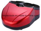 Rouleau-masseur de pied de Shiatsu avec la chaleur permutable et facile à utiliser rouges