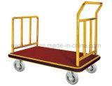 Hôtel chariot à bagages avec tapis remplaçables