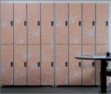 Atacado 12 milímetros de madeira de grão de cor Electronic Lock Locker