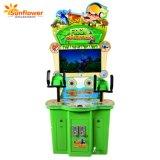 Machine de jeu d'attractions intérieur Acade tir des armes à feu 2joueurs Kids Game coin exploité Billets Machine de jeu