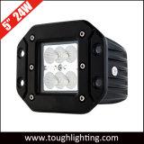 """5 """" 24W는 마운트 크리 사람 LED 일 빛 사각 깍지 입방체 빛을 내뿜는다"""