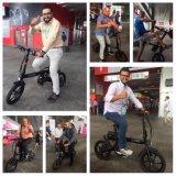 Vélo électrique de mini pliage de 12 pouces avec la batterie au lithium