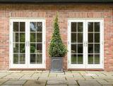 Série 75 portas de pátio francês para instalação exterior