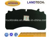 트럭을%s Saf CV 부속 브레이크 패드 29162/Fcv1828 또는 트레일러 또는 버스