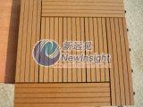 Compuesto de madera de Plastiv del Decking del suelo de WPC