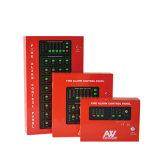 Jogo 2-Wire do alarme de incêndio 4-Zone do LCD da rede de Conventonal