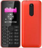 Cinque telefono mobile di Nokie 108 poco costosi caldi di colori