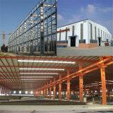 研修会の倉庫のための前に設計された鋼鉄建物