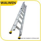 2 Ladder van het Aluminium van de sectie de Multifunctionele Telescopische Vouwende