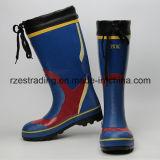 Ботинки дождя безопасности 100% резиновый multi-Fuction работая