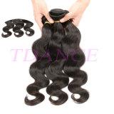 Beauti 100%の人間のUnprocessのバージンのExtensの最もよい価格の高品質のRemyの熱い毛の編むボディWav