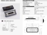 26p impermeabilizan el conectador IP67 de la taza D-SUB de la soldadura del montaje del panel