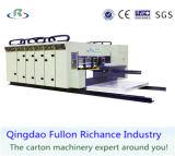 인쇄하는 자동적인 Flexo 물결 모양 두꺼운 종이를 위한 Diecuting 쌓아올리는 기계 기계를 홈을 파기