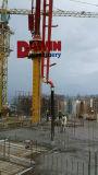 Distribuidor de colocação concreto do crescimento de três braços Foldable hidráulicos com altura do raio 22.7m de 29m 33m
