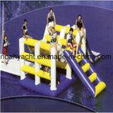 Diapositiva inflable gigante de los juguetes del agua para el patio flotante del agua