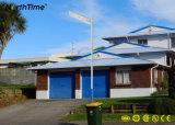 Lampada Integrated della strada di controllo astuto economizzatore d'energia LED con il comitato solare