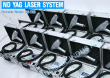 Máquina portable del retiro del tatuaje del laser del ND YAG